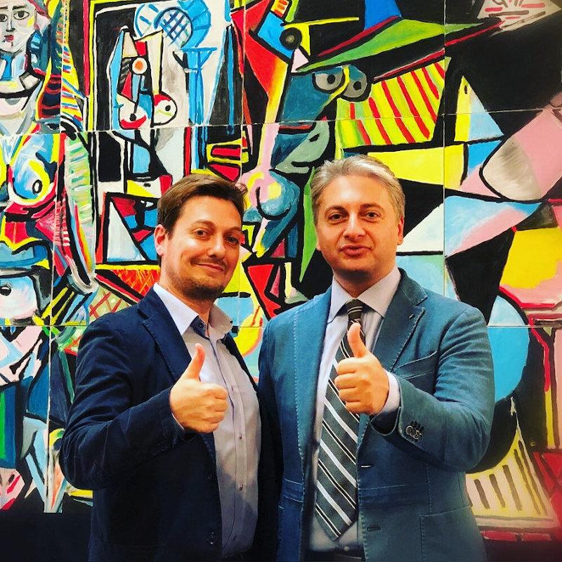 I Trainer EMC Giovanni Amoroso e Luigi Lucci